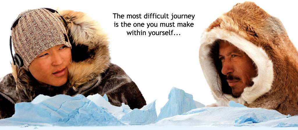 The most difficult journey is the one you must make within yourself